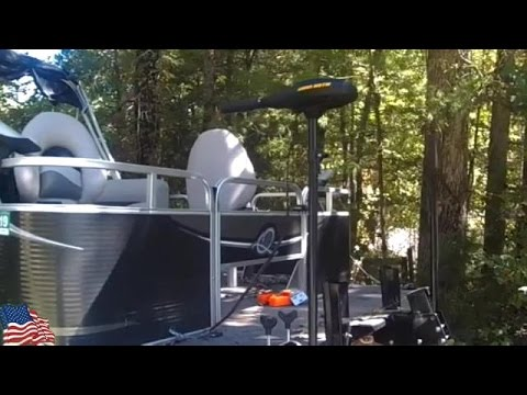Trolling motor installed on a Pontoon Boat  (Part 1)