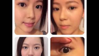 Model Kathy Korean 3 minutes Eyeliner