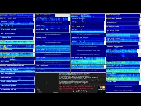 REM - Live Earthquake Monitoring