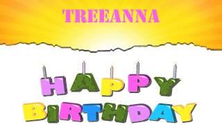 Treeanna   Wishes & Mensajes Happy Birthday