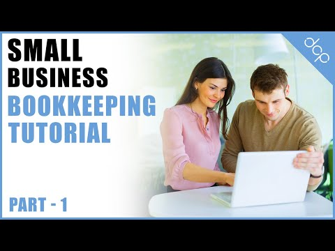bookkeeping for small business tutorial part 1 - open office