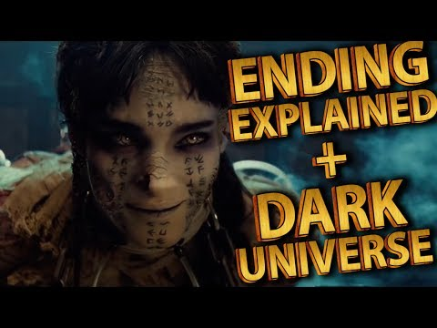 The Mummy Dark Universe And Ending Explained Breakdown And Recap