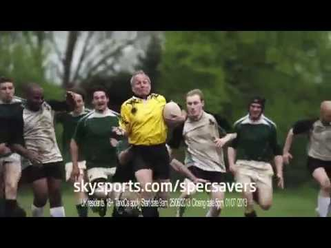 specsavers rugby ref tv ad th secs