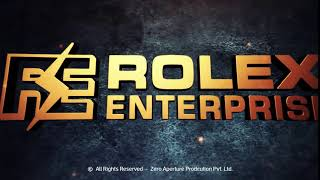 Rolex Enterprise Logo Animation   Creative Motion Graphics ( Logo Animation ) - Intro