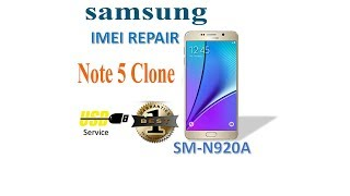 How to Change imei of samsung Note5 Clone By Miracle box