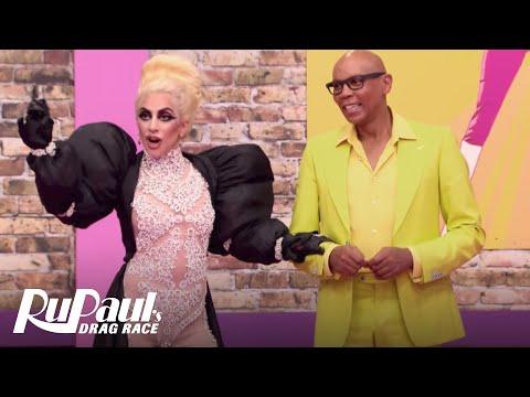 Lady Gaga Dances to 'Supermodel' | RuPaul's Drag Race Season 9 | #DragRaceGoesGAGA | Now on VH1!