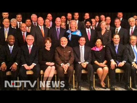 At dinner with Fortune 500 CEOs, PM Modi serves up a New India