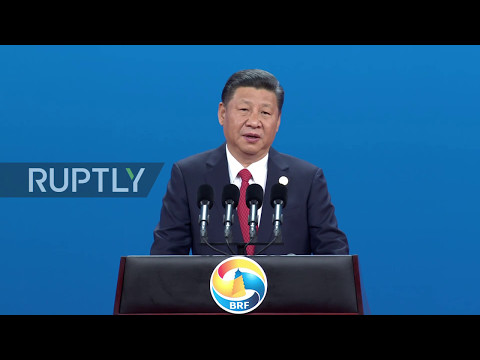 China: Xi Jinping touts 'Belt and Road' project at International Cooperation forum