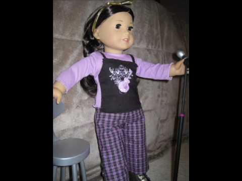 American Girl Doll Lia's Karaoke night.wmv