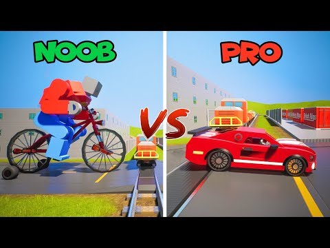 Lego NOOB vs PRO #3 | Brick Rigs