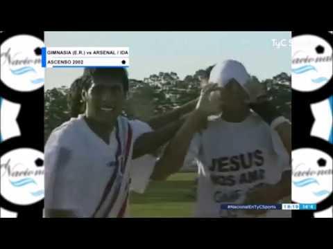 Resumen de la final del Reducido de la B Nacional 01/02: Arsenal-Gimnasia de Concepción del Uruguay