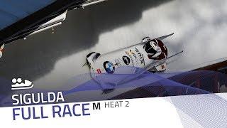 Sigulda | BMW IBSF World Cup 2019/2020 - 2-Man Bobsleigh Race 2 (Heat 2) | IBSF Official