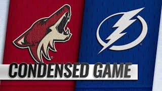 03/18/19 Condensed Game: Coyotes @ Lightning