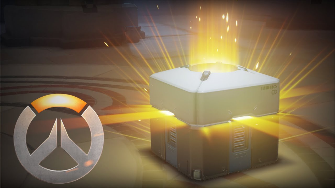 Image result for Overwatch Loot Box