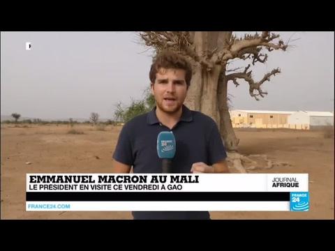 "Emmanuel Macron au Mali : ""La situation sécuritaire au Mali ne cesse de se dégrader"""