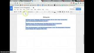 Make Hanging Indent iฑ Google Docs