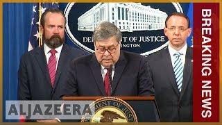 🇺🇸 Redacted Mueller report released by US Justice Department | Al Jazeera English