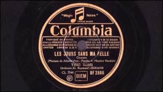 Tino Rossi - Les jours sans ma belle - 1941