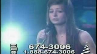 me singing on the telethon!