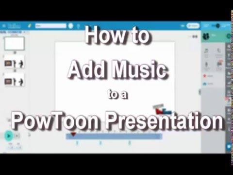 PowToon Music - How-to