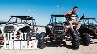 Test Driving Polaris Vehicles On Sand Dunes & Open Road! | #LIFEATCOMPLEX