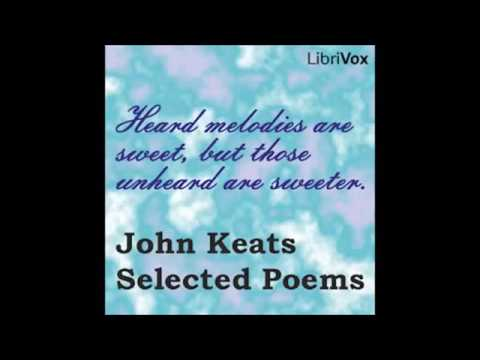 No  184 John Keats  Selected Poems by John Keats FULL Audiobook