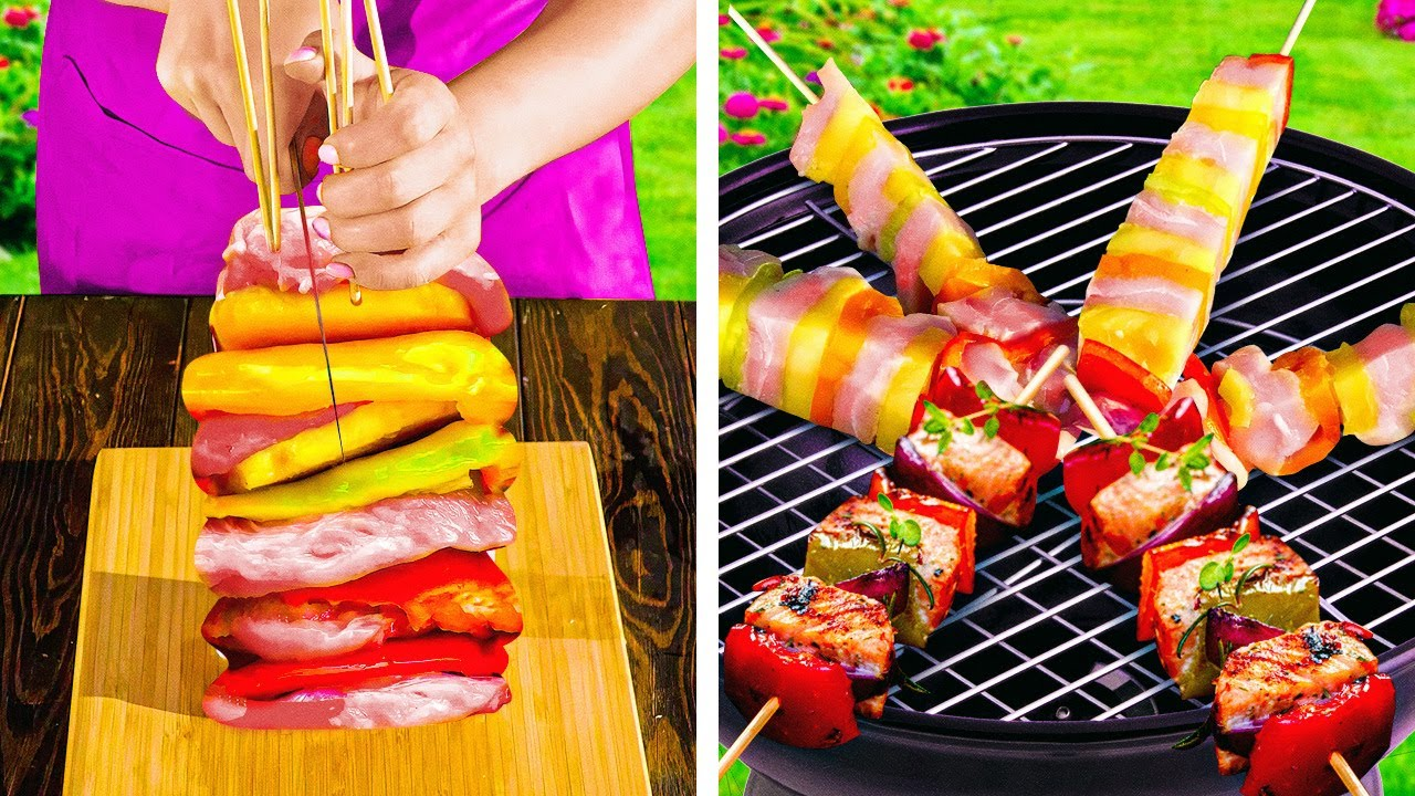 Simple Grilling Hacks to Make a Perfect Picnic    Tasty Recipes to Cook Outdoor!