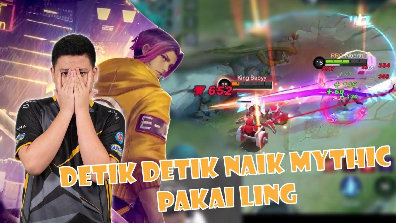 1 BINTANG LAGI NAIK MYTHIC EH MALAH KETEMU PRO PLAYER!!! BANTAI GAK SIH?!
