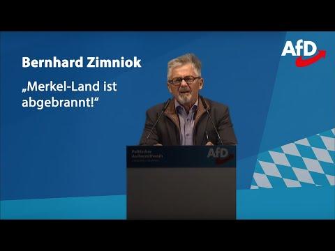 Bernhard Zimniok | ❝Merkel-Land ist abgebrannt!❞