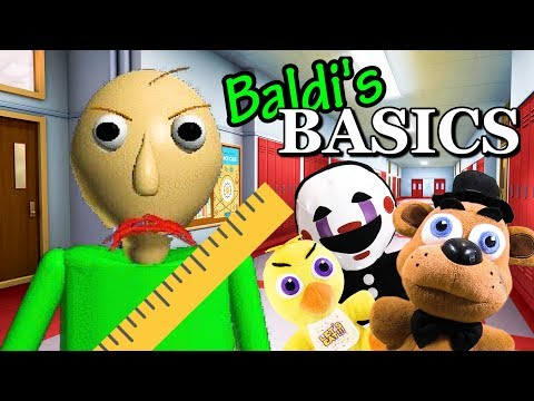 FNAF Plush – Baldi's Basics (Video game)