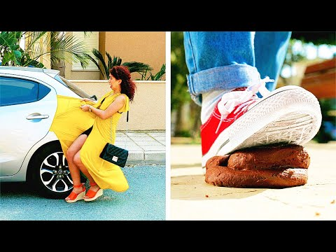 FUNNY AWKWARD MOMENTS AND FAILS || Relatable Everyday Situations for Girls by 123 GO!