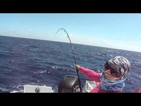 Teaching Folks about fishing in Marathon Florida...Captains BJ Meyer and Bucko Platt