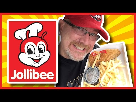 Jollibee - Two Piece Spicy Chicken Dinner - Filipino Food Review | KBDProductionsTV