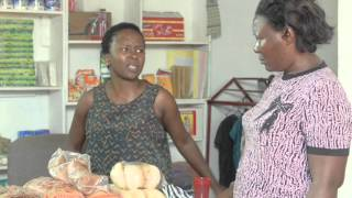 The blind customer. Kansiime Anne. African comedy.