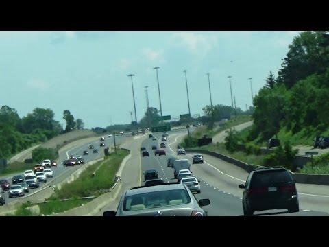 Highlights of Toronto to Niagara Drive - QEW, Ontario, Canada