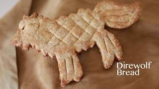 Хлеб (печенье) лютоволк из Игры престолов (русская озвучка от BillMine)