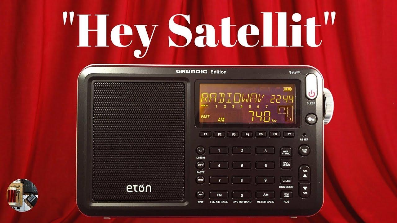 Eton Grundig Edition Satellit AM FM LW SW SSB AIR Band Radio Review