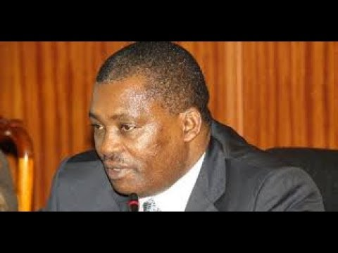 SpeakerJustin Muturi eulogizes The Late CS Nkaissery
