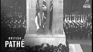 Armistice Day At The Cenotaph (1936)