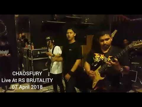 CHAOSFURY Live at RS BRUTALITY