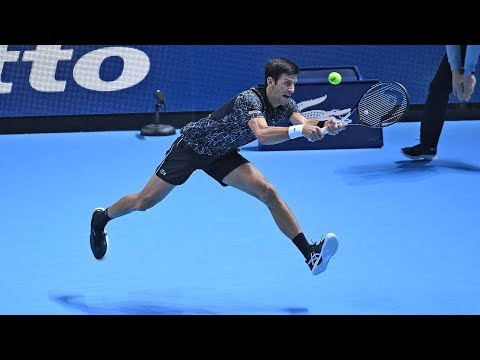 Highlights: Novak Djokovic Beats Marin Cilic 2018 Nitto ATP Finals Round-robin
