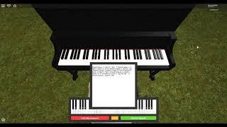 Flores Josclyn da XXTENTACION - Roblox pianoforte (richiesto da Waffle Taco)