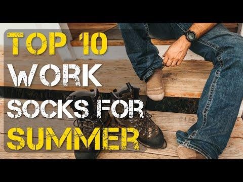 Top 10 Best Work Socks for Summer