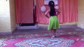 Radha on the dance floor by Minnati Pandey!