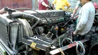 видео двигатель volvo fh12
