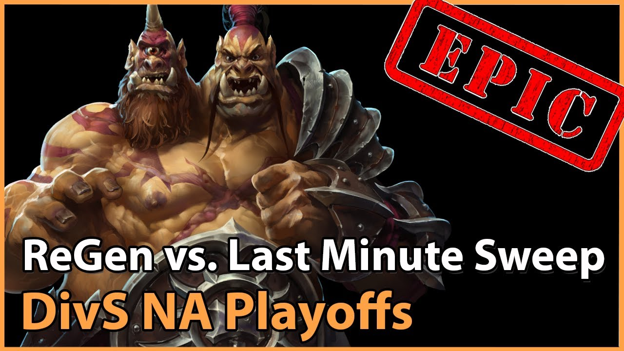 ► Last Minute Sweep vs. ReGen - Division S North America - Heroes of the Storm Esports