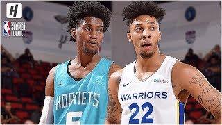 Golden State Warriors vs Charlotte Hornets - Full Game Highlights | July 5, 2019 NBA Summer League