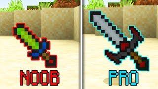 NOOB vs PRO - Uneltele din Minecraft