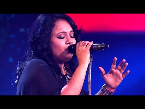 The Voice India - Arpita Khan Performance in The Live Show
