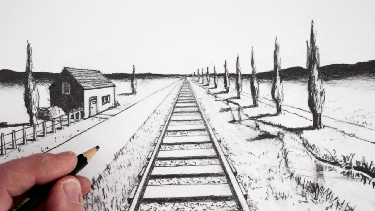 How To Draw Using 1 Point Perspective